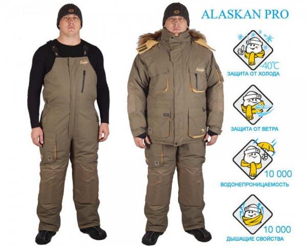 Костюм для зимней рыбалки CANADIAN CAMPER ALASKAN PRO  -2