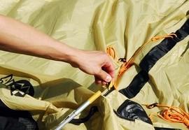 Инструкция по сборке кемпинговой 4х местной палатки